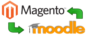 Magento Moodle Integration
