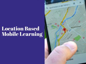Location base mobile learning