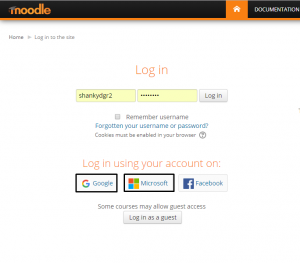 Oauth2, Moodle SSO, integration
